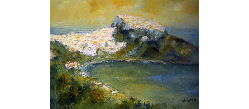 Elba, Öl auf Leinen, 40×30 cm